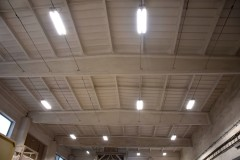 LED lighting for the STOMIX production hall