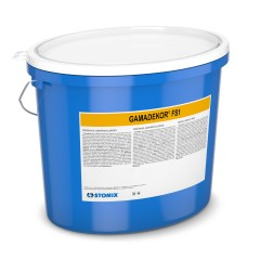 GAMADEKOR FS1 acrylic paint with increased filler content
