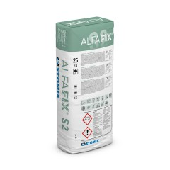 ALFAFIX S2 cementitious adhesive compound for insulation